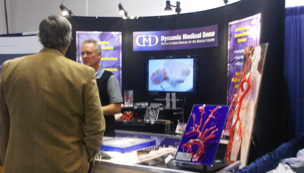 dynamic medial demo booth