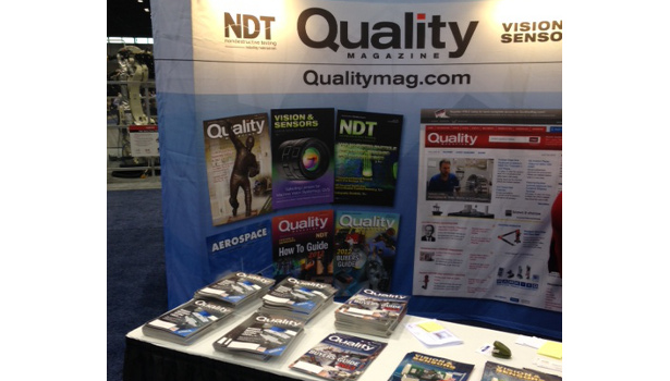 quality magazine at automate show chicago