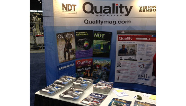 Quality booth at automate
