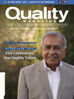 Quality April 2021 cover