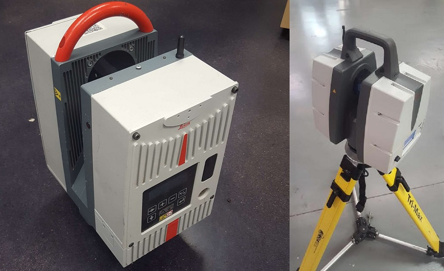 Using 3D Laser Scanning to Inspect Nuclear Power Plant
