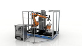 Stratasys' new Robotic Composite 3D Demonstrator
