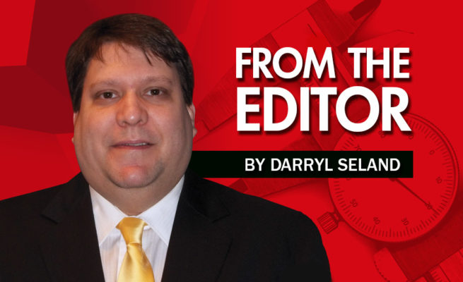 From the Editor, Darryl Seland