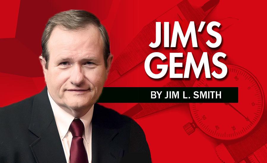 Jim's Gems: Overcome | Quality Magazine