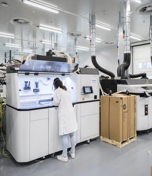HP Opens 150K Sq Ft 3D Printing, Digital Manufacturing
