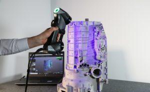 5 3dscanning automotive transmission handyscan3d
