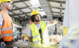 Male manual workers manufacture. Source: bigstock
