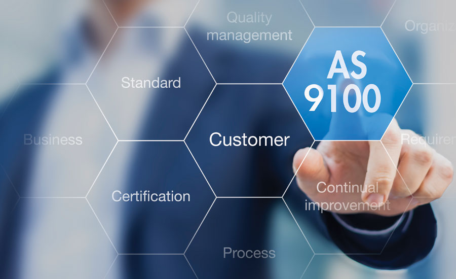 As9100 Certification Opens Doors To Aerospace Business