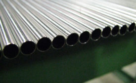 An example of tubing subject to ultrasonic testing.