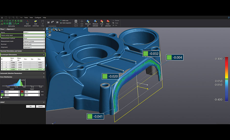 Creaform VXelements 3D Software Version 6.1