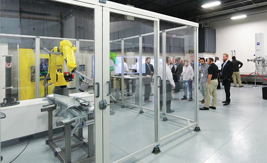 Zeiss opened a new car body and automation inspection center in Michigan.