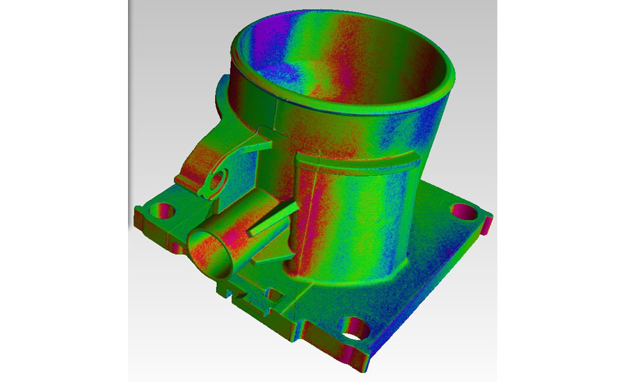Color used to show dimensional variation to the baseline part.