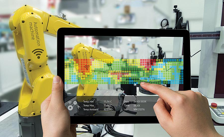 Monitoring, controlling, and analyzing automation equipment from tablets and smart phones