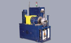 Figure 1. Full-scale clutch tests are conducted on test systems, such as the SAE #2 Friction Test Rig.
