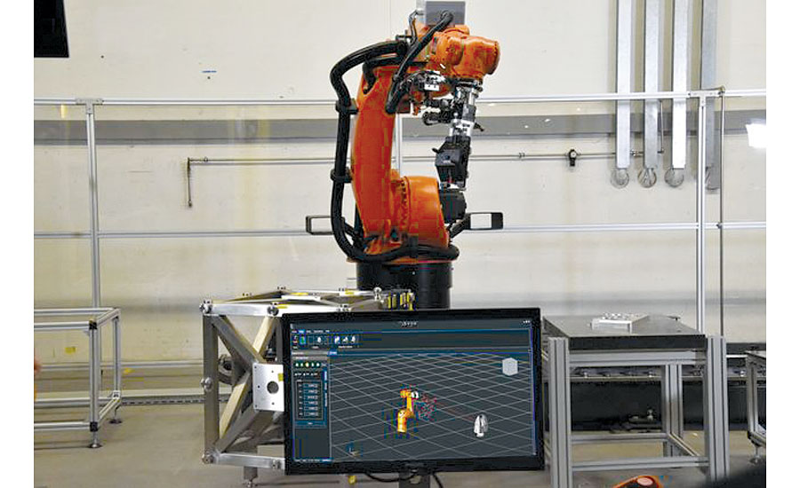 Hexagon Manufacturing Intelligence Industrial Robotic Calibration and ISO-based Performance Test Solution