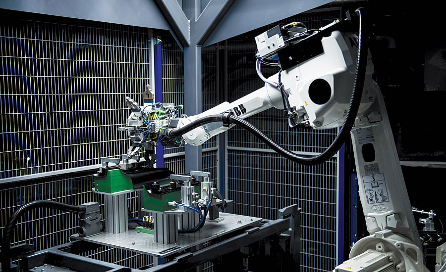 Vision Guided Robotics Facilitate Efficient High Mix, Low Volume Production