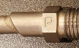 "Photo of ¼"" Tube Fitting Braze Joint"