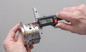 double hook digital depth gage