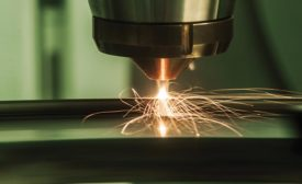 Direct Energy Deposition additive manufacturing image. Source: BeAM
