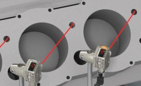 Laser measurement is ideal for error-proofing small height differences.