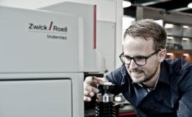 Rockwell hardness testing