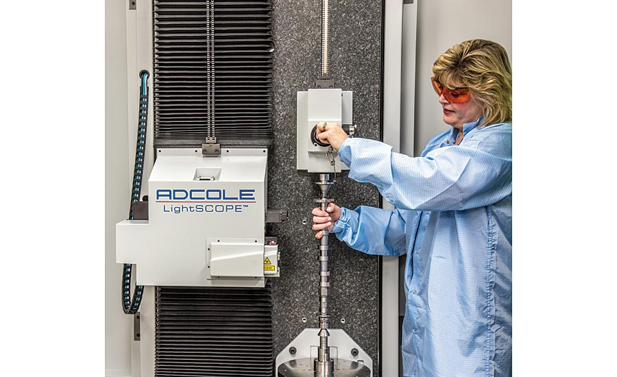 Adcole Corporation LightSCOPE Optical Measurement System