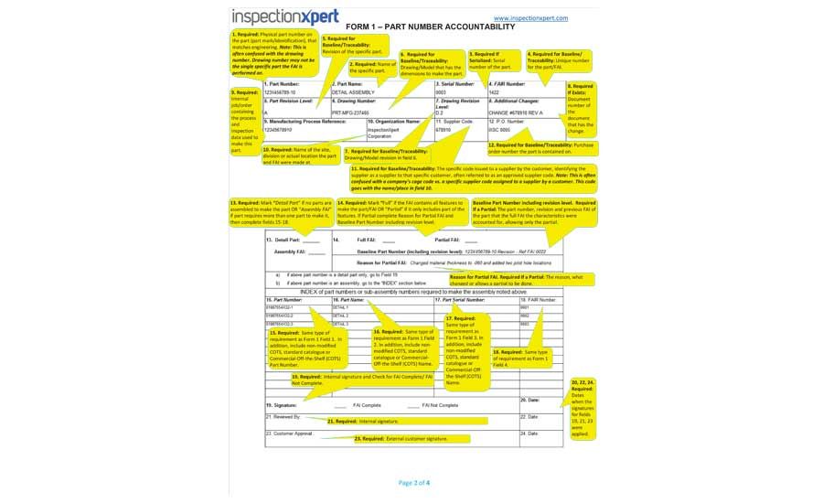 How To Create An As9102 First Article Inspection Report