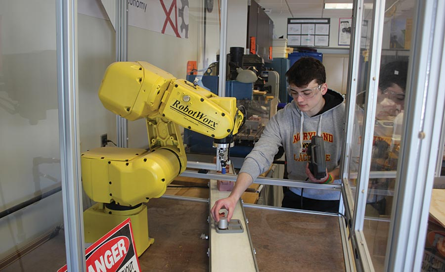 manufacturing training program for the next generation of students.