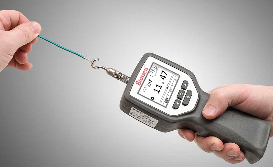 Force measurement testing