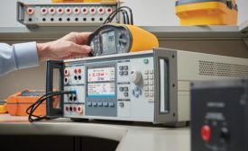 Electrical tester calibrator from Fluke.