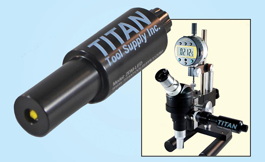 Depth measuring microscope from Titan Tool Supply.