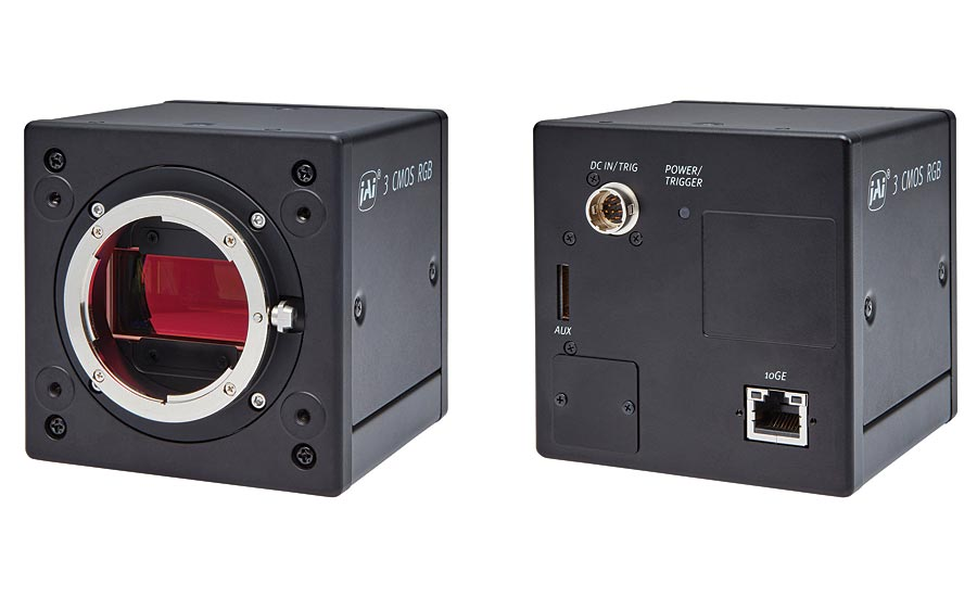 New industrial color line scan cameras from JAI.