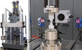 high speed servo-hydraulic test machine