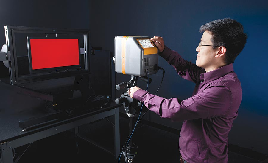 Lab-based display testing