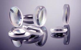 Custom quartz glass lenses from Laser Components.