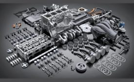 automotive engine assembly
