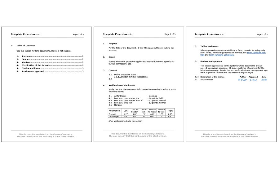 simple document format