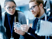 Additive manufacturing inspection. Source: Phuchit / iStock / Getty Images Plus via Getty Images.