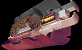 3D volume of an automotive pump