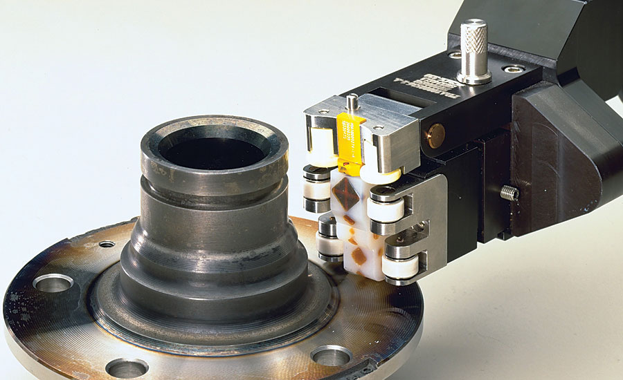 Eddy Current Probe : Nondestructive flaw detection in metallic components