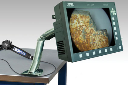 videoscope imaging chain machine ndt