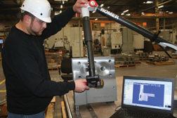 engineer scans cast software