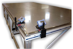 protable xy two axis dimensional measuring system