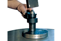 portable hardness testing shear pin brinell