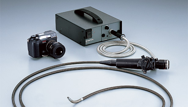 fiberscope external light camera