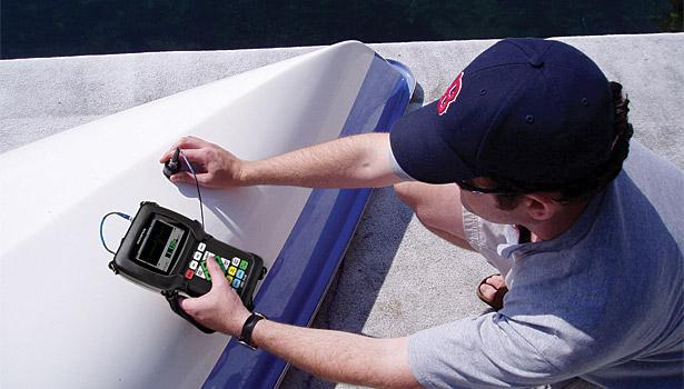 Ultrasonic Testing Of Fiberglass And Carbon Fiber