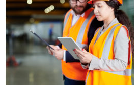 Manufacturing tablet shop floor
