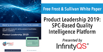 Infinity QS Product Leadership 2019 white paper