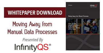 Infinity QS Whitepaper Moving away from manual processes