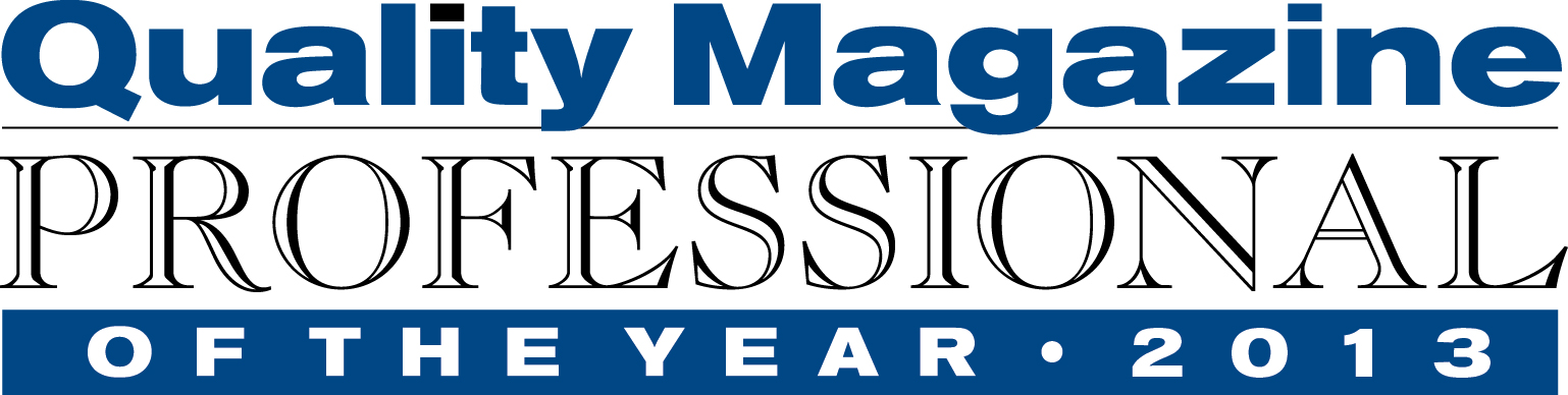 quality professional of the year logo 2013